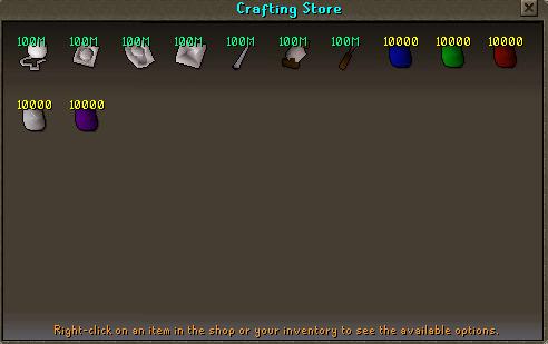 New Craft Store