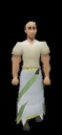 3rd Age Druidic Robe Bottom Equiped