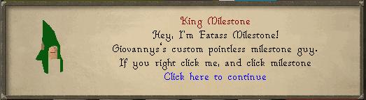 King Milestone 1