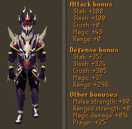 Dragonbone Set Stats