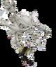 Icy skeleton