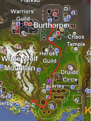 Road to whitewolf