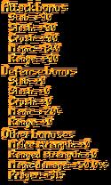 Infinity Gauntlet Stats