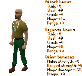 Arcane Stream Necklace Stats