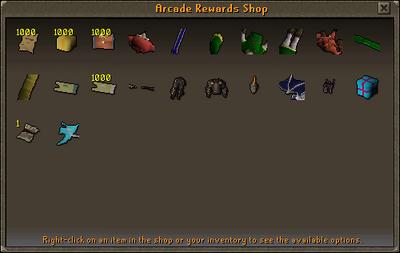 Arcade Rewards Shop