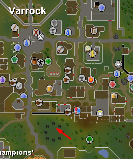 Varrock World Boss - Map - Dreamscape
