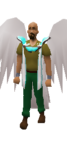 Angelic Deathcape Equiped