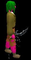 Primal Dagger Equipped