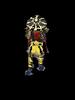 Arcade Dark Raiden outlined