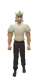 3rd Age Mage Hat Equiped
