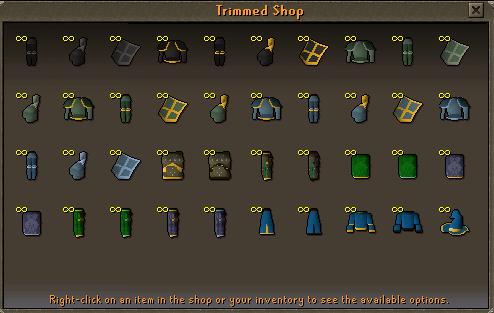 Trimmed Shop