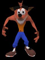 Arcade Crash Bandicoot2 outlined