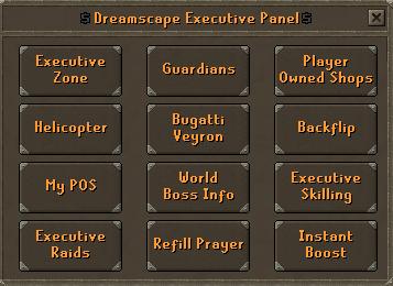 Executive panel