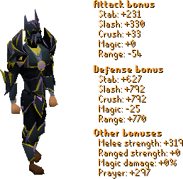 Chaos Armor Stats