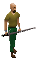 Longclaw Equipped