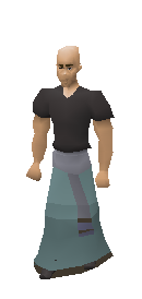 3rd Age Mage Robe Bottom Equiped