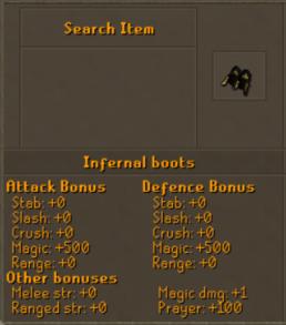 Infernal Boots 2