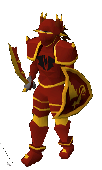 Dragon Platelegs (or) Equipped