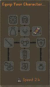 Scroll of Souls Equiped