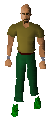 Archer Boots Equipped