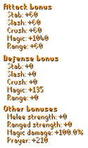 Eternal Khione`s Staff Stats