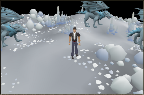Frost dragon area