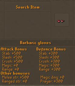 Barbaric Gloves