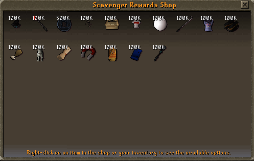 Scavenger Point Shop