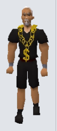 Gold Chain Equiped