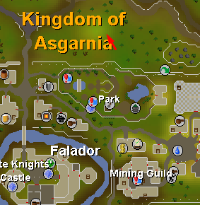 Falador World Boss - Map - Dreamscape