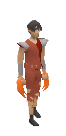 Dragon Claws (orange) Equiped