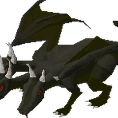 Mini King Black Dragon