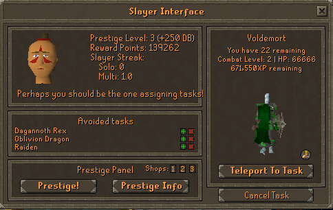 Slayer Interface