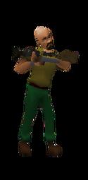 Amban Sniper Rifle Equipped