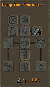Scroll of blood equiped
