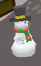 Snowman pet