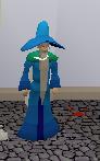 Crazy old wizard clue