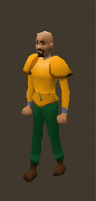 Gilded Platebody Equiped