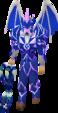 Blue Torva Platelegs Equiped