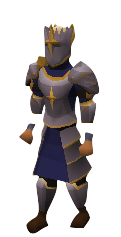 Justiciar Set Equipped