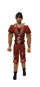 Silver Chain Equiped