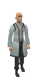 3rd Age Mage Robe Top Equiped