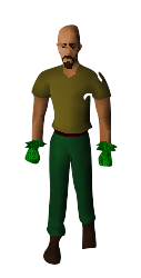 Ultimate Ranger Gloves Equipped