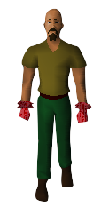 Ultimate Brawler Gloves Equipped