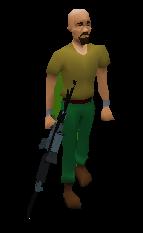 Scoped Rifle (u) Equipped