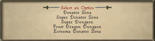 Donator Options