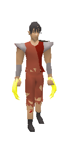 Dragon Claws (yellow) Equiped
