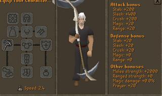 Olaf scythe stats