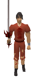 Anger Sword Equiped