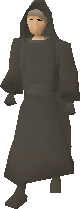 Ghostly Robe Bottom Equipped